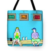 No Frisbee In The Gallery Tote Bag