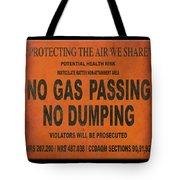 No Gas Passing Tote Bag