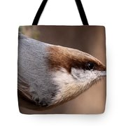 No Hands - Fayetteville - Nuthatch Tote Bag