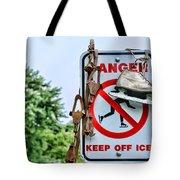 No Ice Skating Today Tote Bag