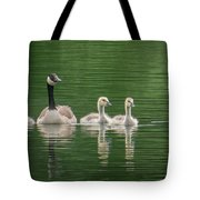 Geese Family Tote Bag