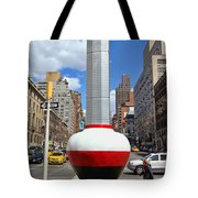 No Limits Exhibit Metlife Building Midtown Tote Bag