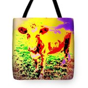 No Mercy For The Cow, They Say, But Why Not  Tote Bag