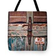 No Parking Tote Bag