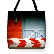 No Passage Tote Bag