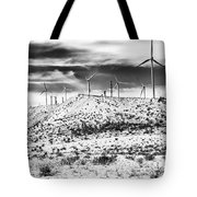 No Place Like Home 1 Bw Palm Springs Tote Bag