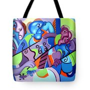 No Strings Attached Tote Bag by Anthony Falbo