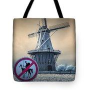 No Tilting At Windmills Tote Bag