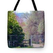 No Trespassing  Tote Bag
