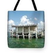 No Vacancy At The Stilt House Tote Bag