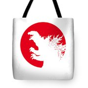 No029-2 My Godzilla 1954 Minimal Movie Poster.jpg Tote Bag