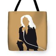 No030 My Blondie Minimal Music Poster Tote Bag by Chungkong Art