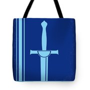 No034 My Highlander Minimal Movie Poster.jpg Tote Bag
