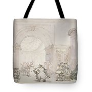 No.0613 The West Room And The Dome Room Tote Bag