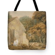 No.0735 A Country Churchyard, C.1797-98 Tote Bag