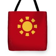 No113 My Iron Man Minimal Movie Poster Tote Bag