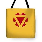 No113 My Iron Man Minimal Movie Posterno113-2 My Iron Man 2 Minimal Movie Poster Tote Bag
