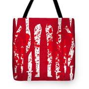 No114 My Machete Minimal Movie Poster Tote Bag