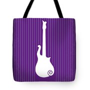 No124 My Purple Rain Minimal Movie Poster Tote Bag