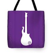 No124 My Purple Rain Minimal Movie Poster Tote Bag by Chungkong Art