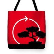 No125 My Karate Kid Minimal Movie Poster Tote Bag