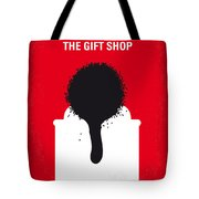 No130 My Exit Through The Gift Shop Minimal Movie Poster Tote Bag by Chungkong Art