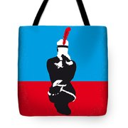 No136 My Soldier Blue Minimal Movie Poster Tote Bag