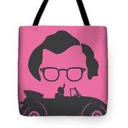 No147 My Annie Hall Minimal Movie Poster Tote Bag