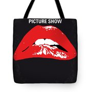 No153 My The Rocky Horror Picture Show Minimal Movie Poster Tote Bag by Chungkong Art