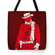 No184 My Django Unchained Minimal Movie Poster Tote Bag