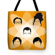 No196 My The Big Bang Theory Minimal Poster Tote Bag