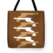 No197 My The Magnificent Seven Minimal Movie Poster Tote Bag by Chungkong Art