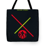 No224 My Star Wars Episode II Attack Of The Clones Minimal Movie Poster Tote Bag
