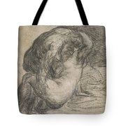 Couple In An Embrace Tote Bag