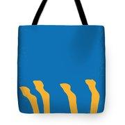 No230 My Animal House Minimal Movie Poster Tote Bag