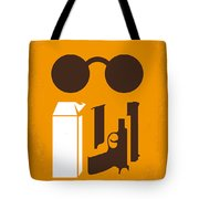 No239 My Leon Minimal Movie Poster Tote Bag