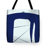 No267 My Moby Dick Minimal Movie Poster Tote Bag