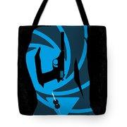 No277-007 My Dr No Minimal Movie Poster Tote Bag