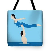 No298 My Dirty Dancing Minimal Movie Poster Tote Bag