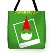 No311 My Amelie Minimal Movie Poster Tote Bag by Chungkong Art