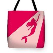 No314 My Mermaid Minimal Movie Poster Tote Bag