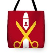 No317 My Macgruber Minimal Movie Poster Tote Bag