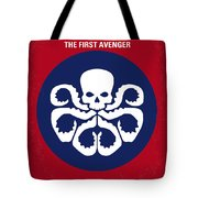 No329 My Captain America - 1 Minimal Movie Poster Tote Bag