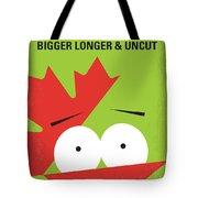 No364 My Bigger Longer Uncut Minimal Movie Poster Tote Bag
