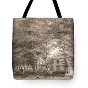 No.3933.f8 View Of The Stables On Lord Tote Bag