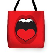 No405 My When Harry Met Sally Minimal Movie Poster Tote Bag by Chungkong Art