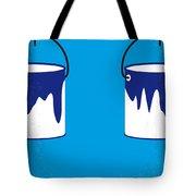 No427 My Home Alone Minimal Movie Poster Tote Bag
