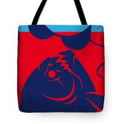 No433 My Piranha Minimal Movie Poster Tote Bag