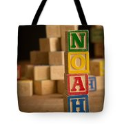 Noah - Alphabet Blocks Tote Bag