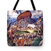 Noah's Ark Tote Bag by Mia Tavonatti